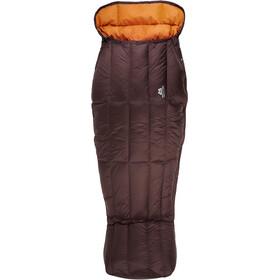 Mountain Equipment W's Spellbinder Sleeping Bag Dark Chocolate/Blaze